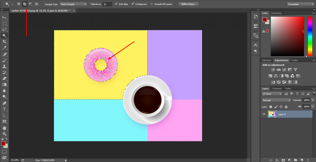 Cut Out Image In Photoshop 10