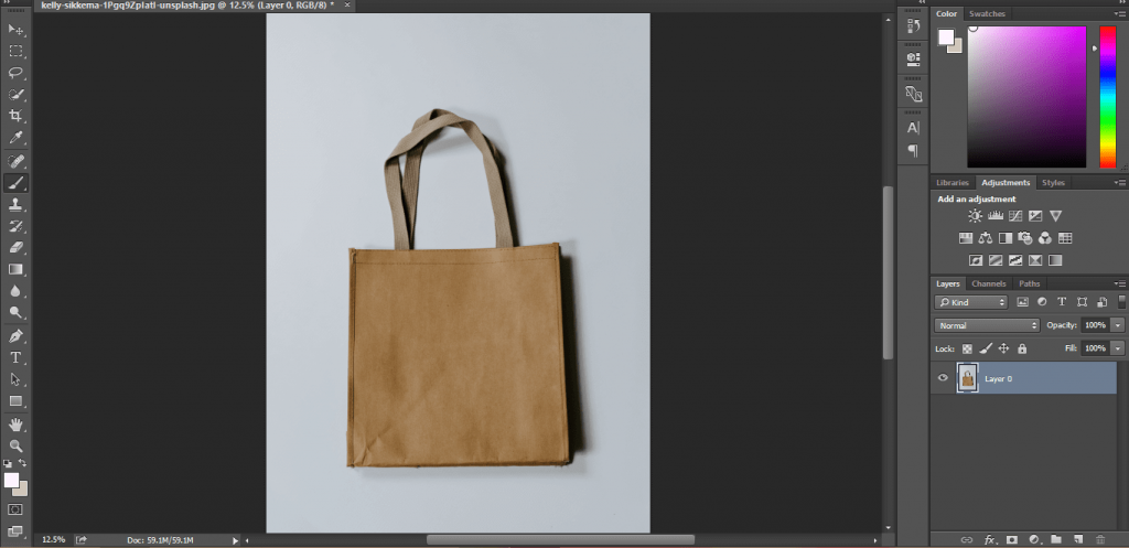 How to change background color in photoshop 26