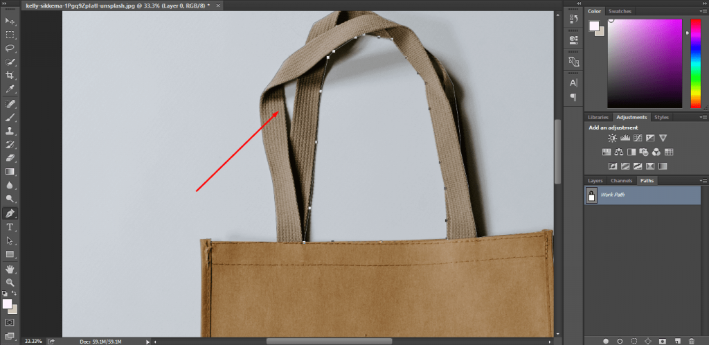 How to change background color in photoshop 29