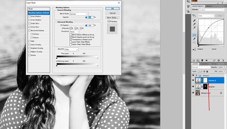 How to remove shadow in photoshop 12