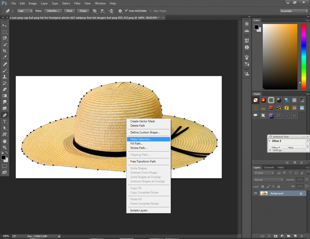 Photoshop Clipping Path Service 04