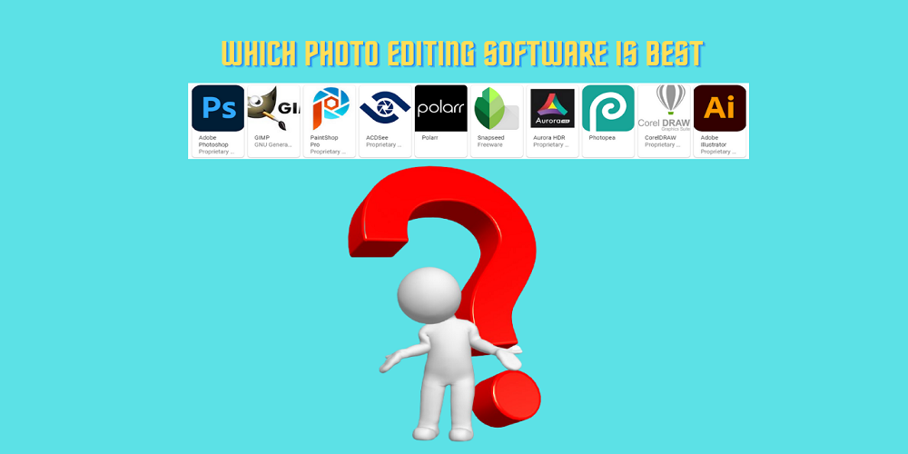 Which Photo Editing Software Is best